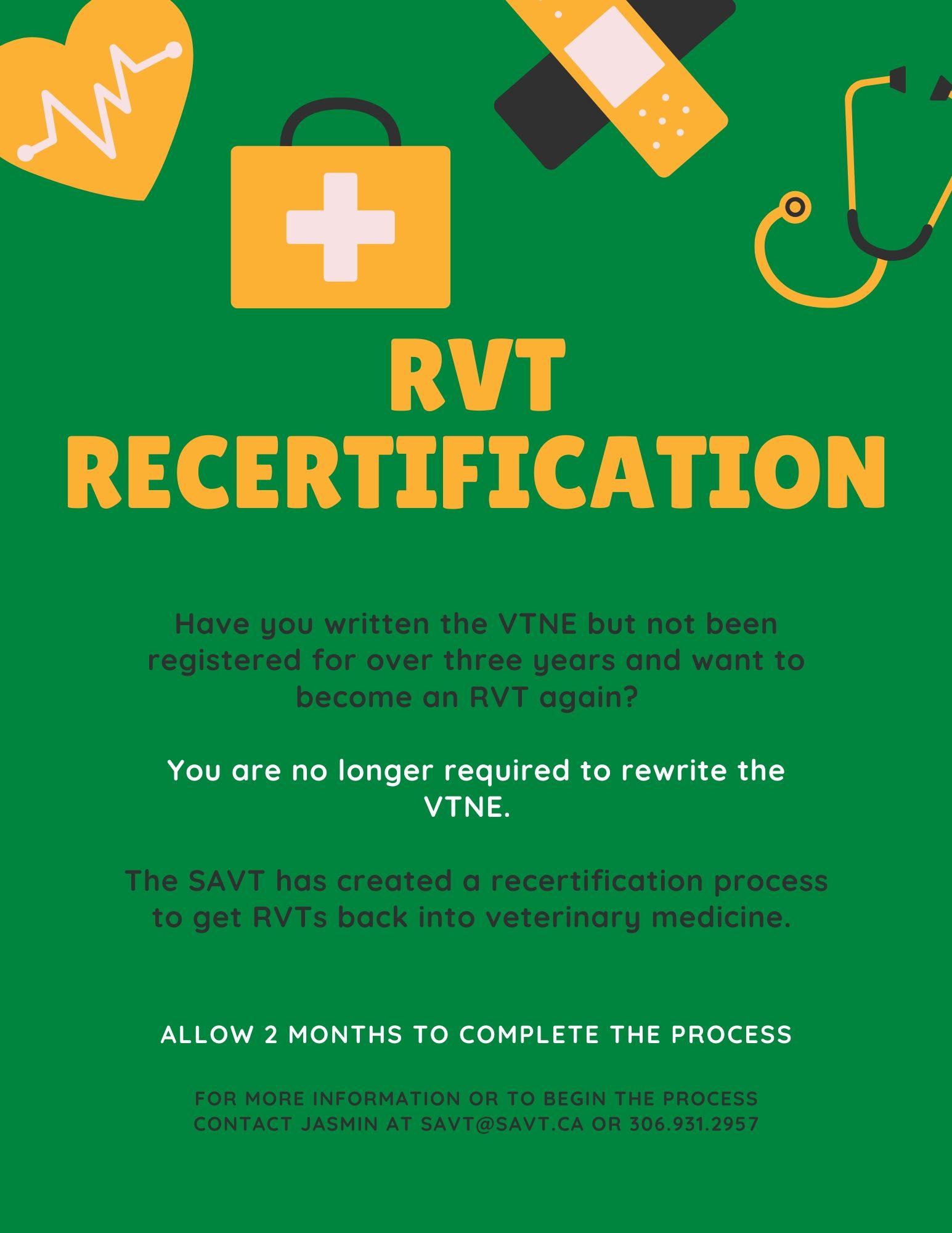Recertification Flyer